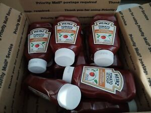 11 LOT Heinz Sweetened with Honey zero Sugar Tomato Ketchup NON GMO 19.5 oz ea
