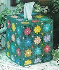 Daisy Tissue Box Cover Home Decor Plastic Canvas Pattern Instructions