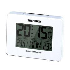 Wecker Funkwecker digital weiß Temperatur Kalender TELEFUNKEN FUD-40 (W)