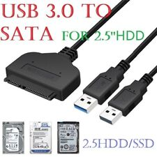 "USB 3.0 To SATA 2.5"" Adapter Cable Reader for External HDD / SSD Hard Disk Drive"