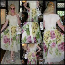 Unbranded Chiffon Vintage Dresses for Women