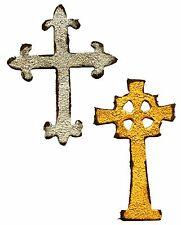 Sizzix Mini Ornate Crosses Movers magnetic die set #658247 MSRP $15.99 Tim Holtz