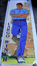 Door Poster Largo Winch / Dupuis1994 / 189 x 59 cm