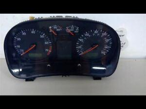 2000 Volkswagen Jetta Speedometer