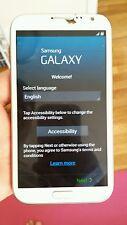 Samsung Galaxy Note 2 - White - Sprint - CRACKED GLASS! STILL WORKS!