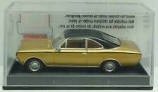 BREKINA/DRUMMER Nr.20654 Opel Rekord (C) Coupé (goldmetallic/schwarz) - OVP