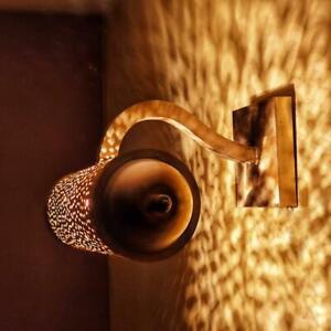 Wall Sconce, Brass wall light, Handmade Hammered Brass, Wall Decor lighting