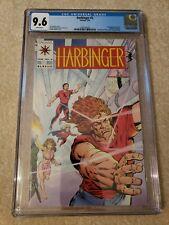 Harbinger 2 CGC 9.6 with coupon, freshly graded. Valiant Comics