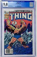 Thing #1 CGC 9.8 Marvel 1983 Fantastic Four! Key Bronze! John Byrne! H11 119 cm