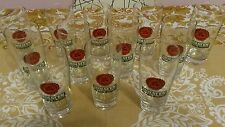 BICCHIERI BIRRA HOLSTEN 0,20 L  VETRO BEER GLASS 12 PEZZI VINTAGE