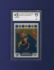 2008 Topps Chrome #184 Russell Westbrook Rookie Card BGS/BCCG 10