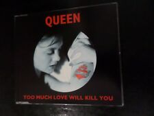 CD SINGLE - QUEEN - TOO MUCH LOVE WILL KILL YOU / WE WILL ROCK YOU / WE ARE THE