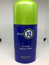 Its a 10 10 Miracle Texture Fiber 3.4 oz