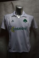 MAILLOT FOOT ADIDAS  PANATHINAIKOS TAILLE 16 ANS JERSEY SOCCER 100 ANS