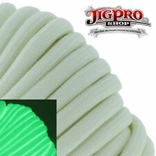 Glow-in-the-Dark 100' Type Iii 550# Paracord by Jig Pro Shop - Made in the Usa