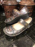 Alegria Mary Jane. Swirl Shoes Sz 39 Nice