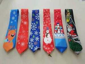 Christmas light up MUSICAL TIE Xmas Stocking filler  Party Gift present *CHEAP*