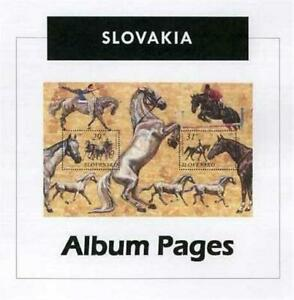 Slovakia CD-Rom 1939-2015 Color Illustrated Album Pages