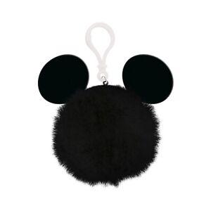 Genuine Disney Mickey Mouse Ears Acrylic and Pom Pom Keyring Keychain Fob