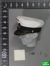 1:6 Scale DID D80148 WWII German U-Boat Commander Lehmann - White Visor Cap