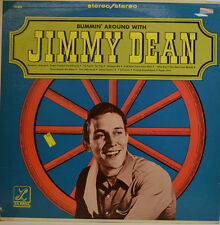 JIMMY DEAN - BUMMIN' AROUND CON - LA BREA LS 8014 STEREO LP (X457)