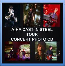 A-HA CAST IN STEEL TOUR 1800 PHOTO CD CONCERT LIVE SET 1, 2, 3 AHA