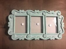 Green 3 Slot Picture Frame