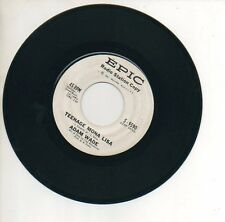 ADAM WADE 45 RPM Promo Record TEENAGE MONA LISA / WHY DO WE HAVE TO WAIT SO LONG