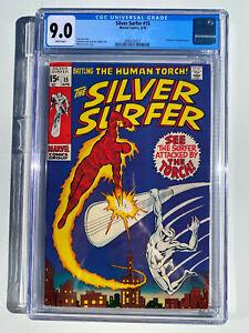 Silver Surfer #15 CGC 9.0