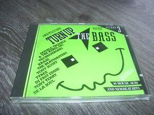 Turn Up The Bass Volume 3 * Newbeat / Acid CD Arcade Holland 1989 *
