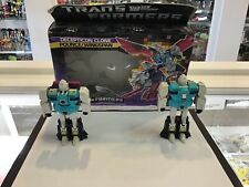 1986 VINTAGE - TRANSFORMERS G1 HASBRO - WINGSPAN AND POUNCE - MIB