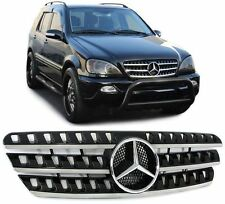 CALANDRE MERCEDES CLASSE ML W163 NOIR + CHROME LOOK AMG ML W164