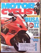 Motorcyclist August 2007 Aprilia Shiver 750 Suzuki GSX1300R Yamaha FZ1 HDT KLR