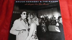 """BRUCE HORNSBY & THE RANGE """"A NIGHT ON THE TOWN"""" ORIGINAL 1990 ISSUE - EX++"""