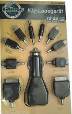 12V 24V Ladekabel für Smartphone Handy Appel IPhone Nokia Samsung, USB MiniMicro