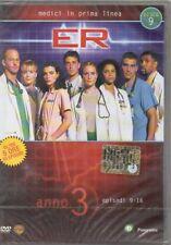 ER MEDICI IN PRIMA LINEA - ANNO 3 - DISCO 9 - DVD (NUOVO SIGILLATO) BOX SLIM