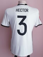 Germany 2016 - 2017 Home football shirt size M, #3 Hector