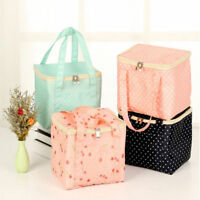 Kids Adult Portable Lunch Bags Insulated Cool Bag Picnic Outdoor School Lunchbox