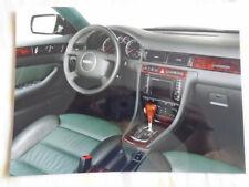 Audi allroad quattro Interior press photo Feb 2000