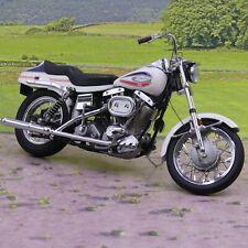 Franklin Mint Harley Davidson 1971 Super Glide 1:10 scale diecast model as seen