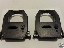 2 Black Amano Pix 55 All TCX 11 Series CE-315151 Time Clock Ribbons Free Ship!