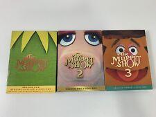 The Muppet Show DVD Box Sets Seasons 1 2 3 1-3 3 Disc Sets Boxsets
