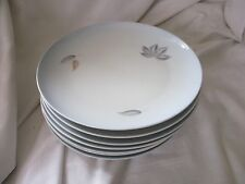 Bing & Grondahl blue white lot of 7 luncheon plates Falling Leaves