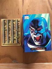 MARVEL MASTERPIECE 1994 EDITION FULL SET OF 140 CARDS