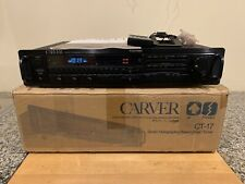 Carver Preamplifier Tuner Ct-17 with Carver Remote Control Rh-17