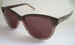 GIVENCHY SUNGLASSES SGV 811 0AL6 HAVANA LINED BROWN BNWT GENUINE