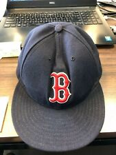 Boston Red Sox New Era 5950 59FIFTY fitted hat size 7 1/8 (56.8 CM) Cap