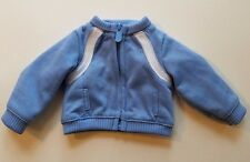 """American Girl 18"""" Doll Blue Zip Front Jacket from Track Suit Retired"""