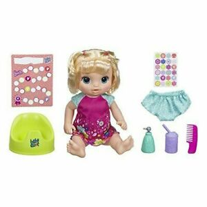 Baby Alive Potty Dance Blonde Baby Doll w/ Accessories - Over 50 Sounds & Songs