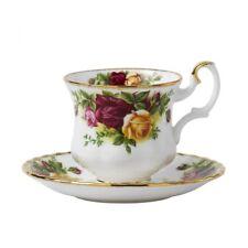 Royal Albert - 6 Tazze Caffè con piatto Old Country Roses 0,15 l - RIVENDITORE